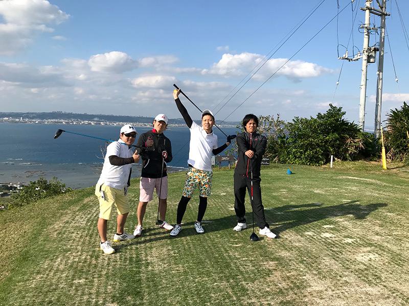 アロハでゴルフ