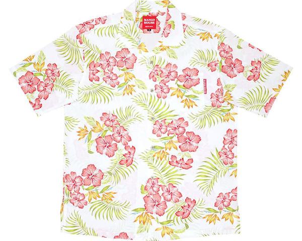 沖縄アロハシャツブライトハイビーファイン掲載