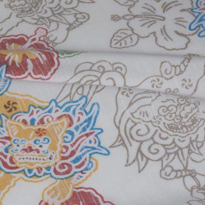 沖縄アロハシャツ お手入れかんたん かりゆしウェア