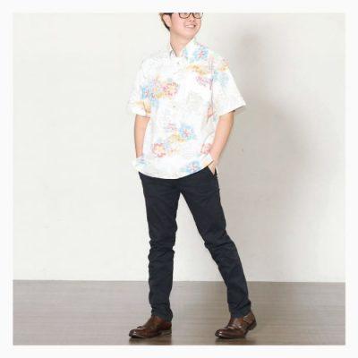 沖縄アロハシャツ 裏地仕様 かりゆしウェア