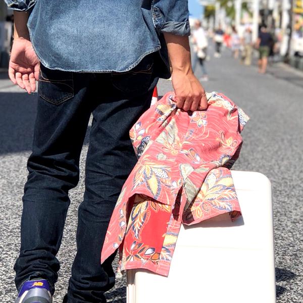 沖縄アロハシャツエスニックデイゴ