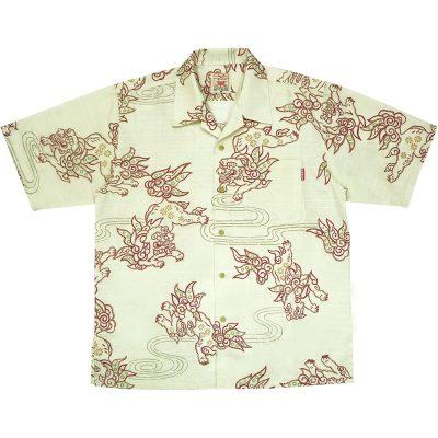 沖縄アロハシャツ シーサー2009 かりゆしウェア