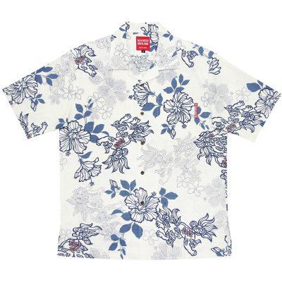 沖縄アロハシャツ シーサー2015 かりゆしウェア
