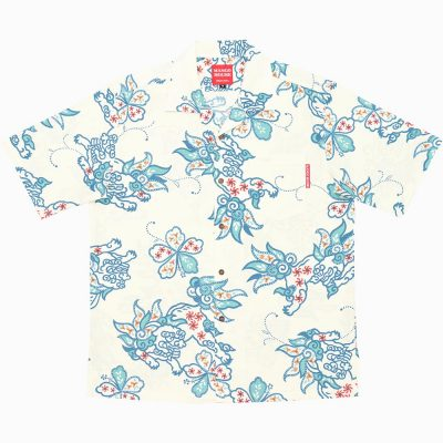 沖縄アロハシャツ シーサー2016 かりゆしウェア