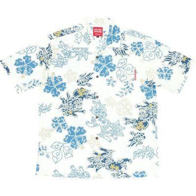 沖縄アロハシャツ シーサー2017 かりゆしウェア