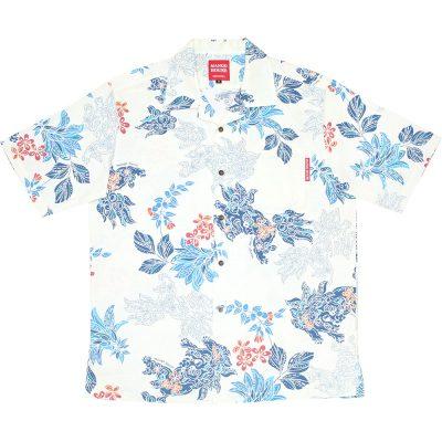 沖縄アロハシャツ シーサー2018 かりゆしウェア