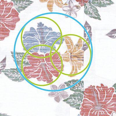アロハ 構図