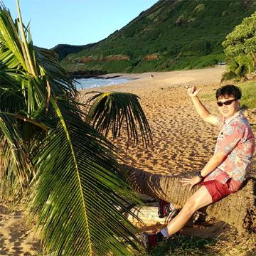 ハワイでかりゆしウェア