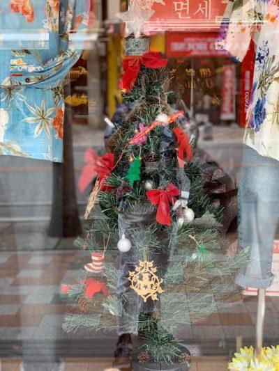 アロハとクリスマスツリー