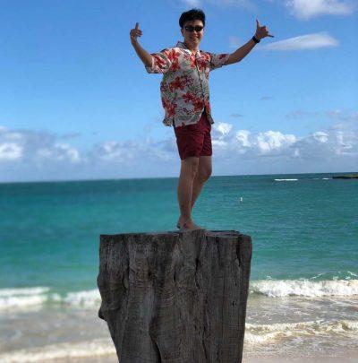 ハワイでかりゆし