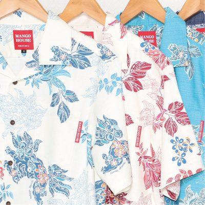沖縄アロハシャツ かりゆしウェア