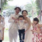 沖縄結婚式 沖縄イル・ド・レ チャペル かりゆしウエディング