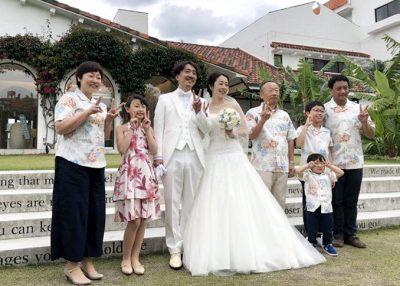 沖縄結婚式 アロハシャツ かりゆしウェア かりゆしウエディング