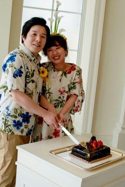 沖縄結婚式 クリスティア教会 かりゆしウエディング