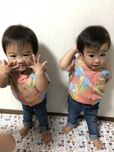 双子コーデ