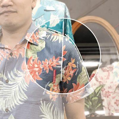 沖縄アロハシャツ サイズ合ってない かりゆしウェア