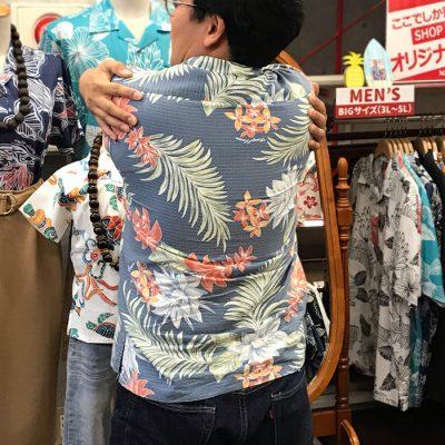 沖縄アロハシャツ キツい かりゆしウェア