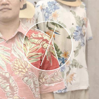 沖縄アロハシャツ Lサイズ かりゆしウェア