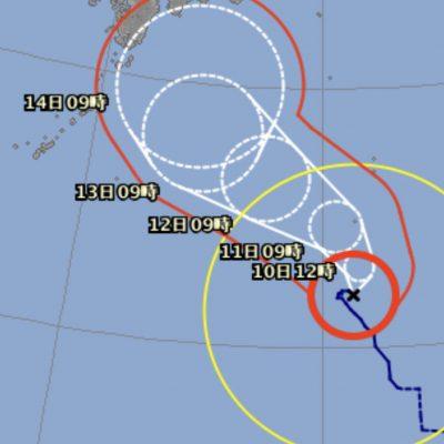台風10号