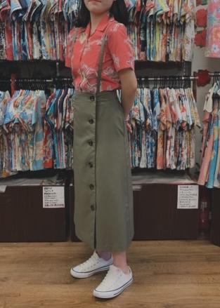 アカバナークイナ×ロングスカート