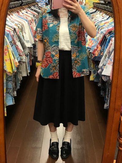 アロハシャツ 沖縄 着こなし
