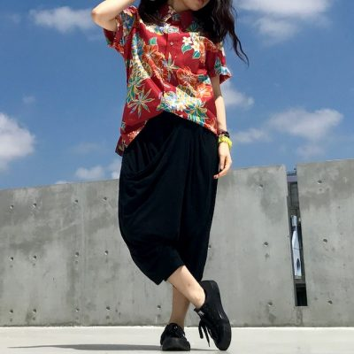 春 沖縄 服装