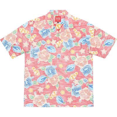 熱帯魚柄アロハシャツ