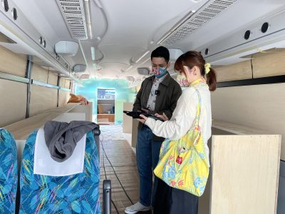 移動型店舗 マンゴハウス バス
