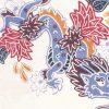 残りわずか!「紅型ドラゴン」柄のかりゆしウェア(アロハシャツ)デザイン紹介第一弾!
