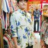 半袖もいいけど長袖もかっこいい!東京からお越しのアロハ好きお兄さん♪