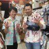 沖縄初日に衣装チェンジでハイシーサー♪