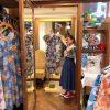 沖縄ウェディング応援!かりゆしワンピースを選ぶなら試着室の広~いMANGO HOUSE国際通り5号店がオススメ♪