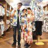 マンゴハウスのお揃いで着れる沖縄アロハ(かりゆしウェア)と、かりゆしワンピースを家族みんなで♪